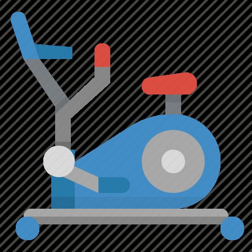cardio, elliptical, machine, walk, workout icon
