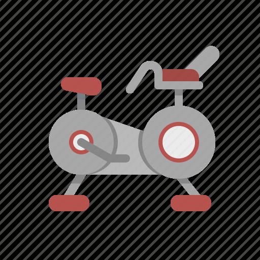 bike, fitness, gym, stationary, wellness icon