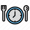 clock, cook, date, meal, time