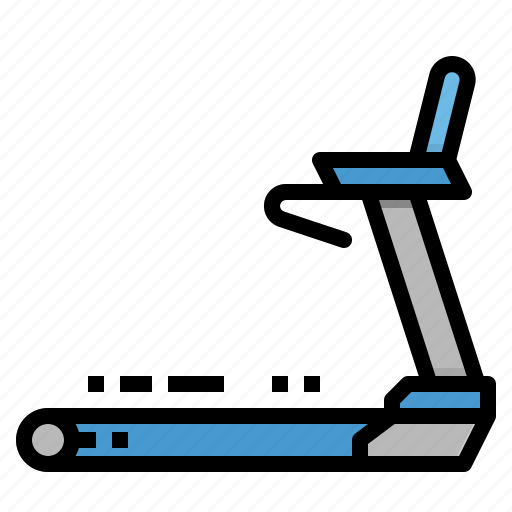 Fitness, gym, sport, training, treadmill icon - Download on Iconfinder