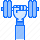 arm, dumbbell, fitness, gym, hand, sport, workout icon
