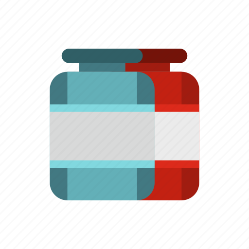 bottle, food, jar, plastic, protein, sport, supplement icon