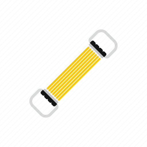 belt, exercise, fit, gym, sport, stretching, workout icon