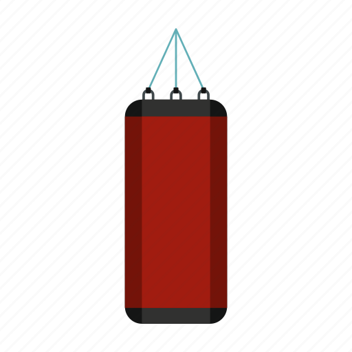 bag, boxing, equipment, exercise, gym, punching, sport icon