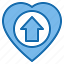 exercise, gym, gymnasium, healthy, heart, love, valentine icon