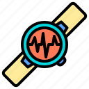 exercise, gym, gymnasium, healthy, heart, love, pulse icon