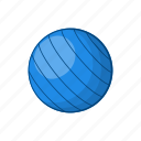ball, blue, cartoon, game, sign, sport, volleyball icon