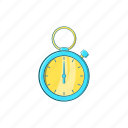 cartoon, clock, sign, speed, stopwatch, timer, watch icon
