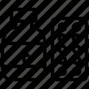 medical treatment, antibiotics, medicine jar, pill bottle, prescription drug icon