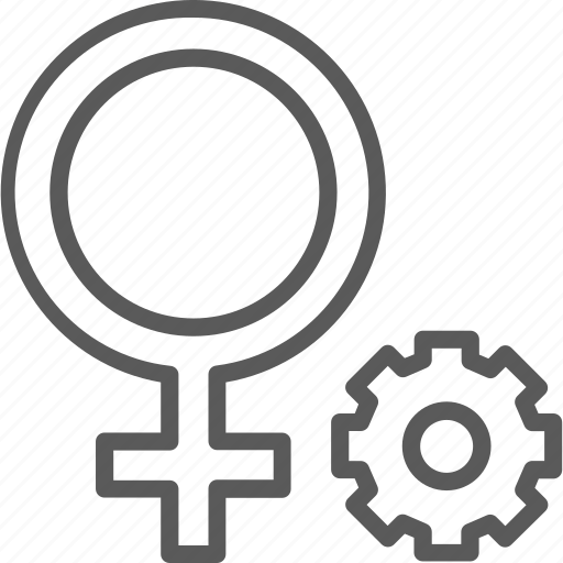 female, gender, gynecology, sex, sexual, vagina, woman icon