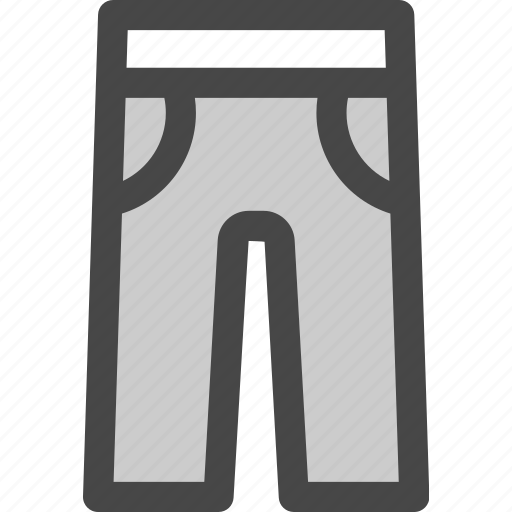 apparel, clothes, clothing, fashion, pants, pockets, trousers icon