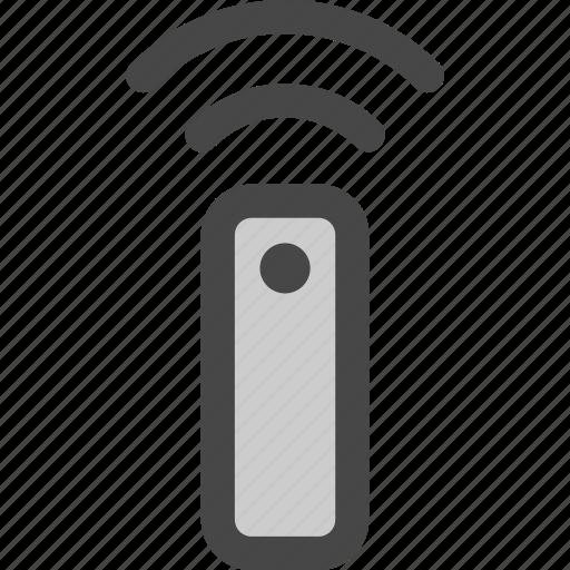 control, device, remote, signal, tv, wifi, wireless icon