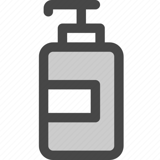 bathroom, bottle, container, dispenser, lotion, shampoo, soap icon