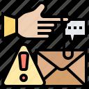 cybercrime, fraud, hacking, phishing, steal icon