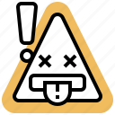 disconnect, error, failure, problem, warning icon