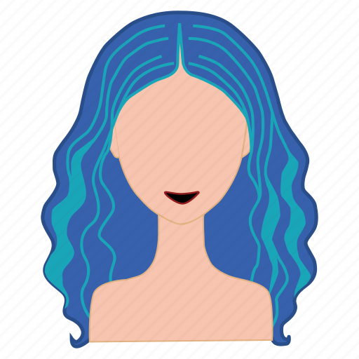 blue hair, hair, hair color palette, hair colouring, hairstyle, salon, style icon