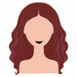 beauty, brown hair, hair, hair color palette, hairstyle, style, woman icon