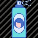hairspray, hair saloon, spray, bottle