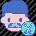 moustaches, reshape, hair saloon, barber