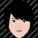 face, girl, hair, hairstyle, modern, short, woman