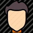 beauty, hair, hairstyle, man