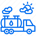 energy, gasoline, oil, power, transport, truck icon