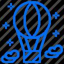 advanture, air, balloon, observation, space icon