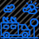 car, gps, satellite, signal, space icon