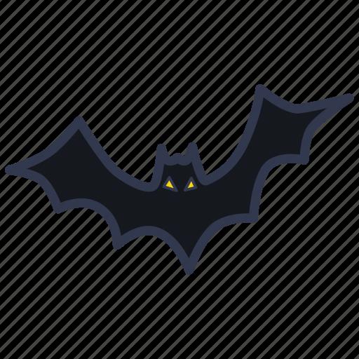 bat, fear, flittermouse, ghost, halloween, horror, spooky icon