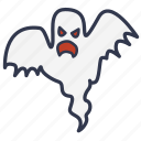 ghost, halloween, horror, scary ghost, spook, dead, evil