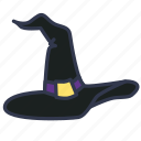 evil, halloween, hat, magic, scary, spooky, witch hat icon
