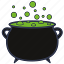 boiler, death, halloween, horror, poison, pot, potion icon