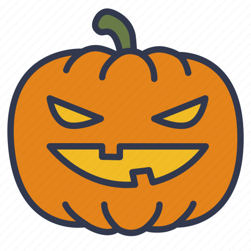 evil, gourd, halloween, pumpkin, scary pumpkin, spooky, vegetable icon