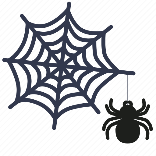 arachnophobia, death, halloween, horror, monster, phobia, spiderweb icon
