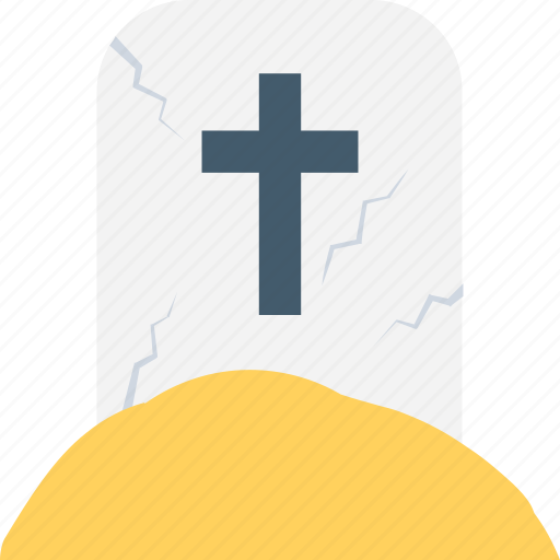 cemetery, churchyard, death, frightening, funeral, grave, gravestone, headstone, scary, tombstone icon