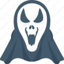 devil, evil, ghost, horror, scary icon