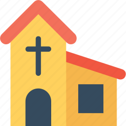 cathedral, chapel, church, holy cross, worship icon
