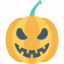 dreadful, fearful, halloween pumpkin, horrible, pumpkin icon