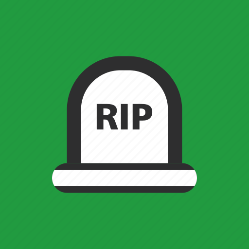 grave, halloween, scary, tombstone icon