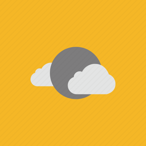 cloud, full moon, halloween, moon icon