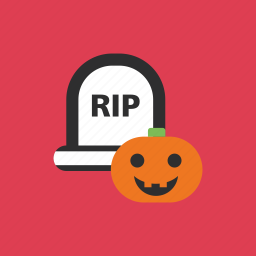 death, halloween, pumpkin, scary icon