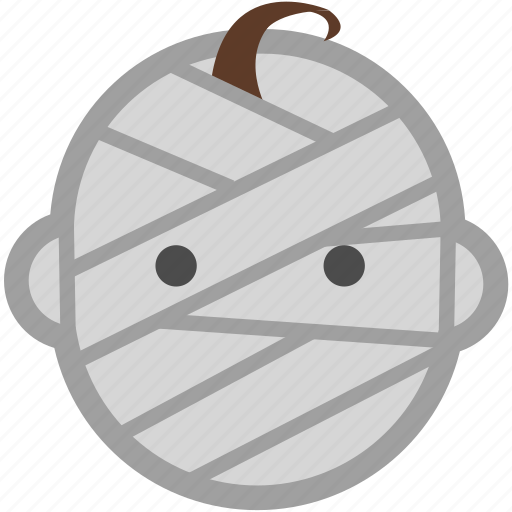 costume, cute, halloween, mummy, party, spooky icon