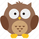 halloween, hoot, night, nightowl, owl, spooky icon