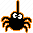 cute, decoration, halloween, party, spider, spooky icon