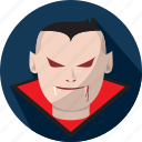 creepy, dracula, halloween, horror, scary icon