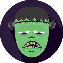 frankenstein, halloween, horror, monster, scary icon