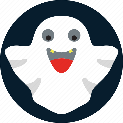 ghost, halloween, horror, pacman, scary icon