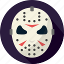 halloween, horror, jason, scary icon