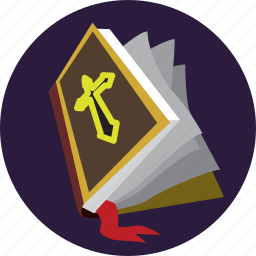 halloween, magic, spellbook, wizard icon