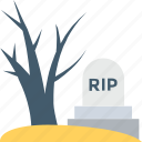 grave, graveyard, halloween, horror, tomb icon